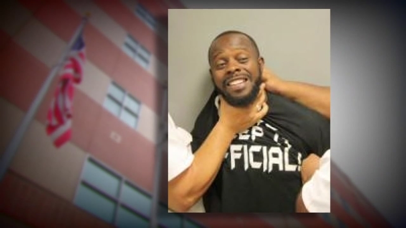 Inmate claims he was choked by deputies