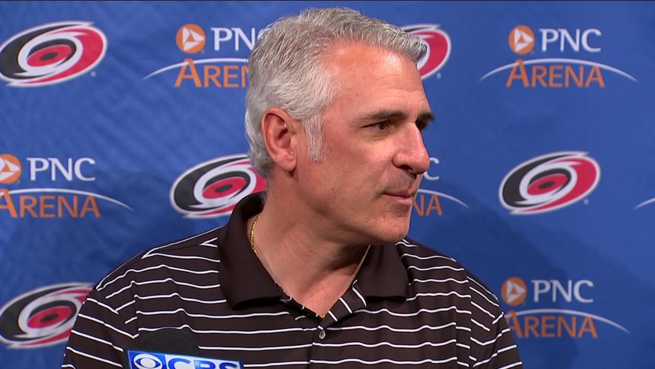 Ron Francis on Canes rumors