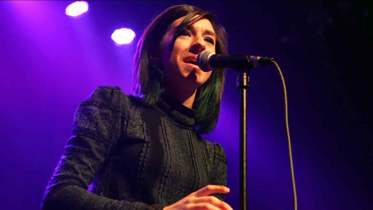 Christina Grimmie performs as the opener for Rachel Platten at Center Stage Theater on Wednesday, March 2, 2016, in Atlanta.