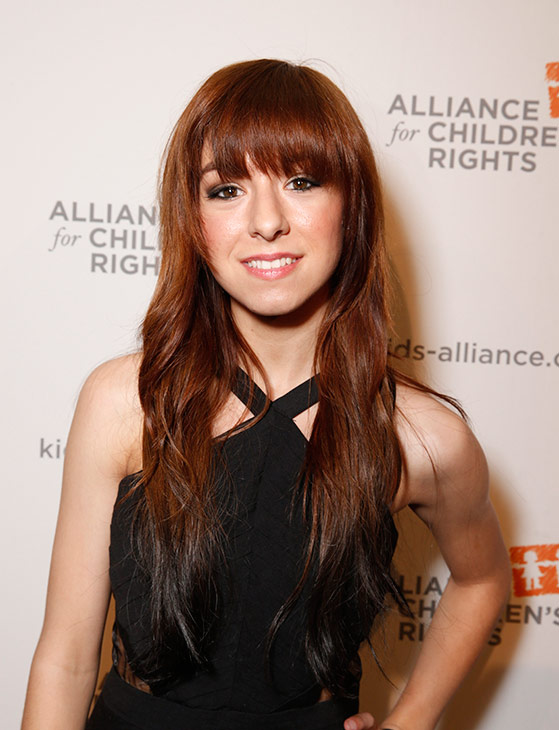 <div class='meta'><div class='origin-logo' data-origin='none'></div><span class='caption-text' data-credit='Photo by Todd Williamson/Invision/AP'>Christina Grimmie attends The Alliance for Children's Rights 21st Annual Dinner at The Beverly Hilton Hotel on March 7, 2013 in Beverly Hills, California.</span></div>
