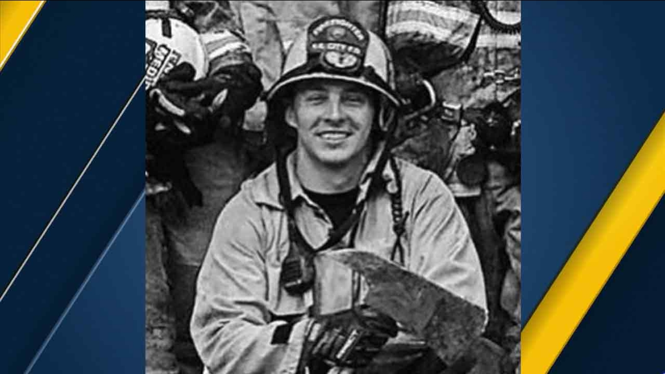 John Ruppert of the San Bernardino Fire Department, who was electrocuted to death on Friday, June 10, 2016, is seen in an undated photo.