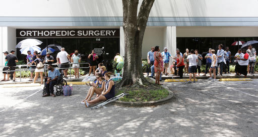 "<div class=""meta image-caption""><div class=""origin-logo origin-image none""><span>none</span></div><span class=""caption-text"">Volunteers wait in line to donate blood at the OneBlood   in Orlando, Fla. (AP)</span></div>"