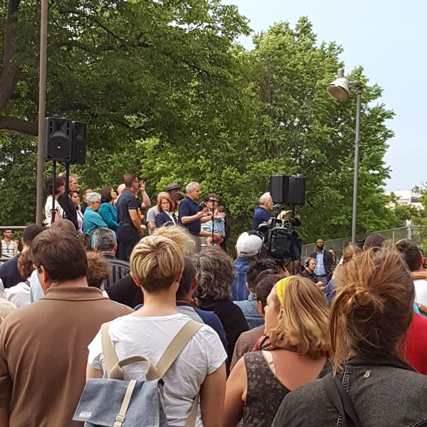 "<div class=""meta image-caption""><div class=""origin-logo origin-image none""><span>none</span></div><span class=""caption-text"">Minnesota Governor Mark Dayton speaks at a vigil in Minneapolis. (Caleb Murphree)</span></div>"