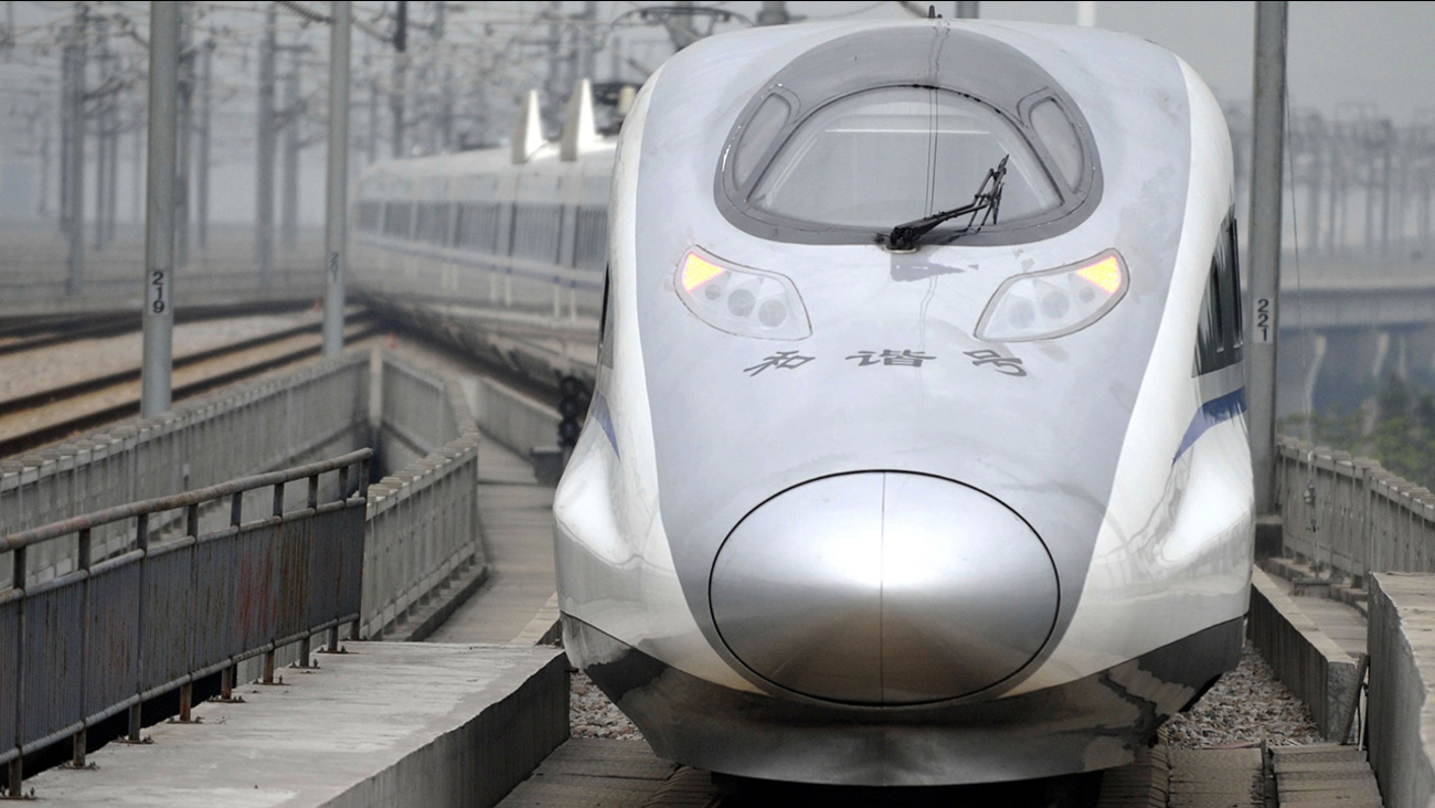 bullet train G80