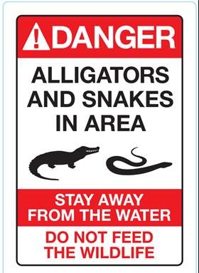 "<div class=""meta image-caption""><div class=""origin-logo origin-image none""><span>none</span></div><span class=""caption-text"">A sign warning guests of gator that was put up along the beaches at Disney resorts on Friday. (Walt Disney World)</span></div>"