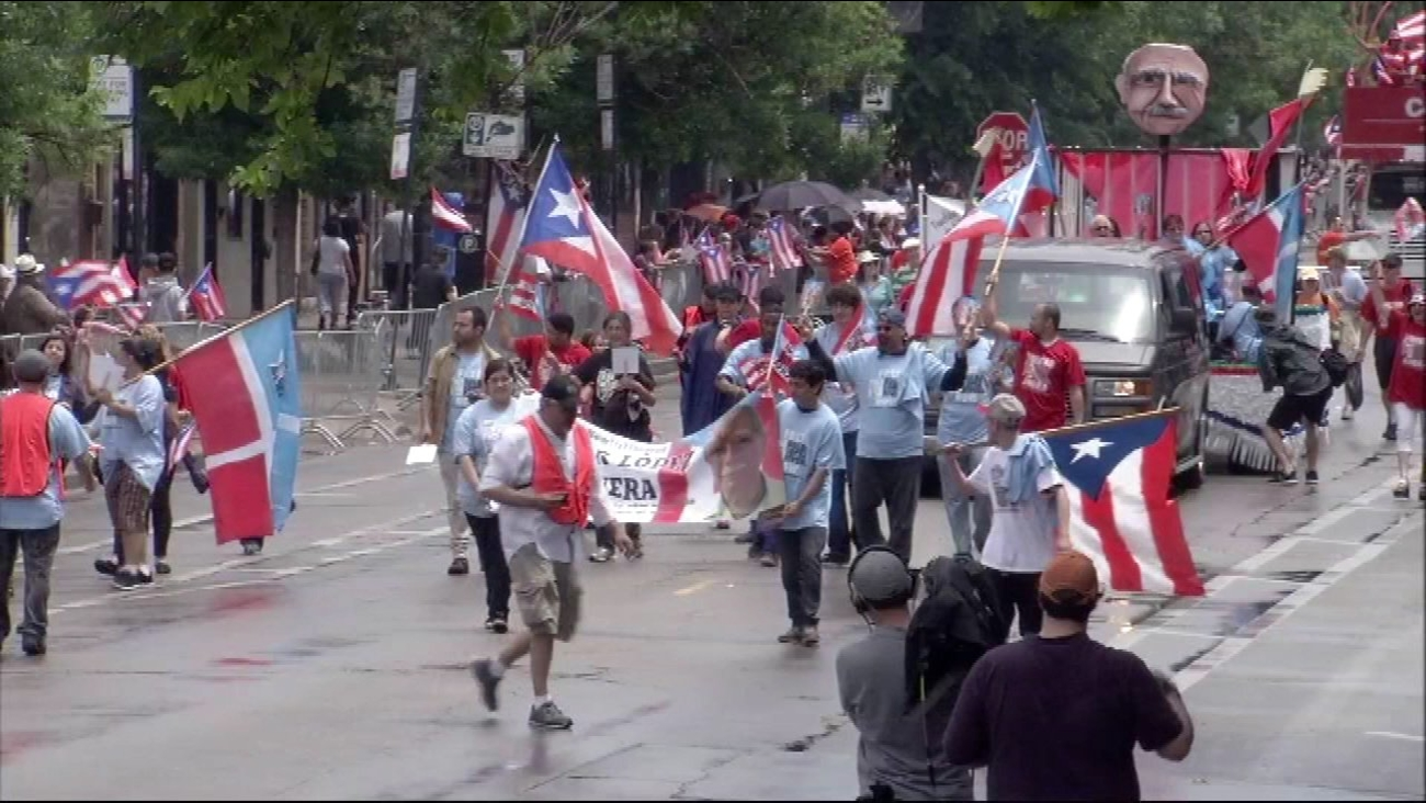 The Puerto Rican People's Parade.