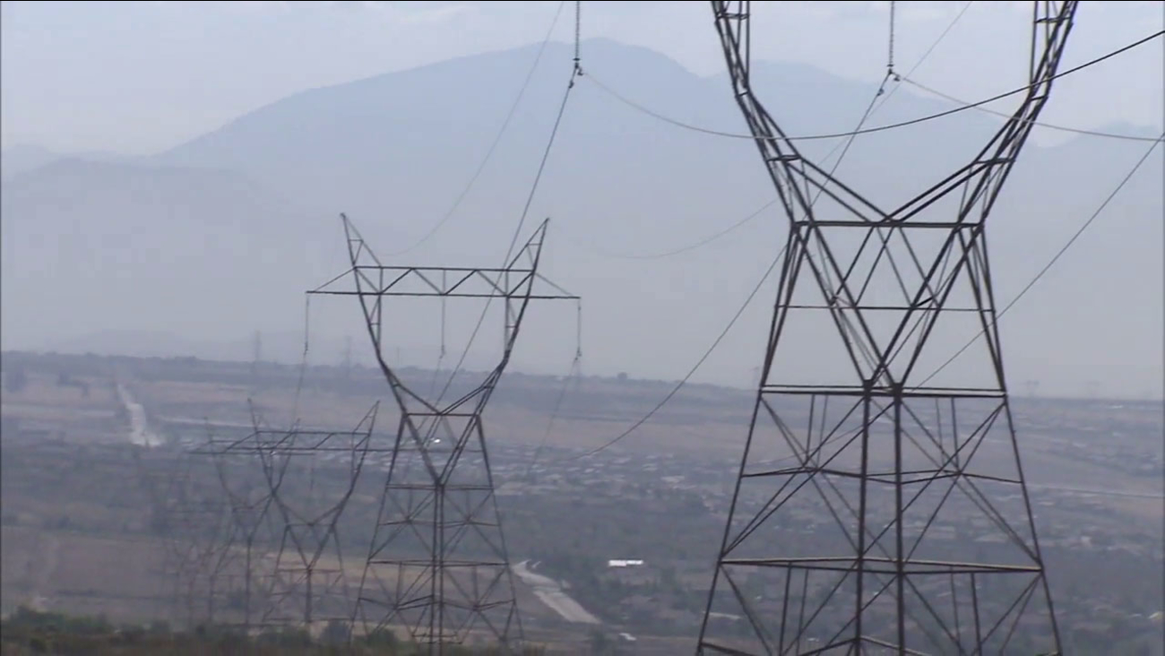 The heat is putting a strain on Southern California's power grid this weekend.