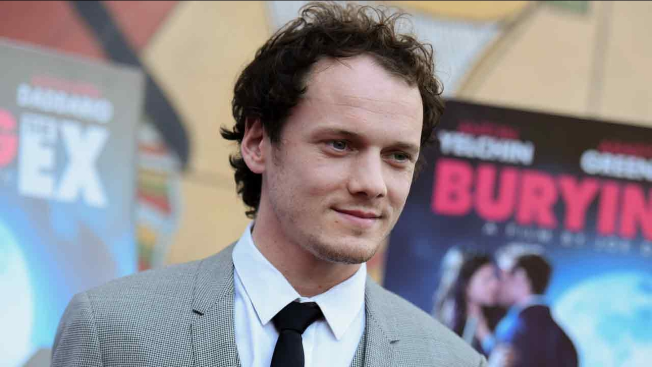 "In this June 11, 2015, file photo, Anton Yelchin arrives at a special screening of ""Burying the Ex"" held at Grauman's Egyptian Theatre in Los Angeles."