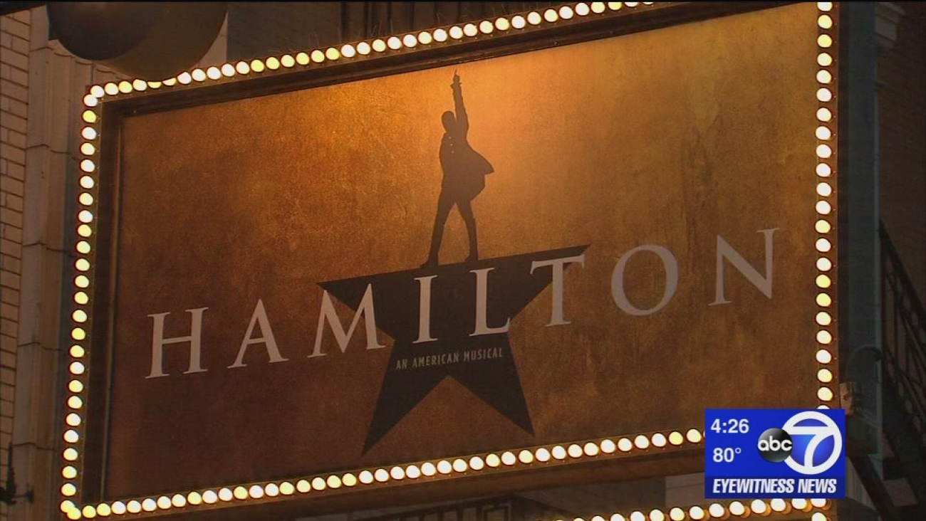 Broadway businesses reaping benefits of 'Hamilton' success