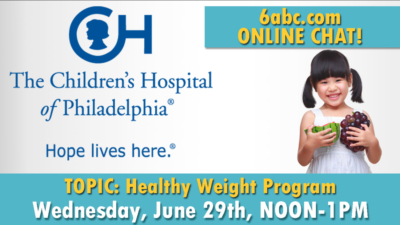 Chat with CHOP - TOPIC: Healthy Weight Program | 6abc com