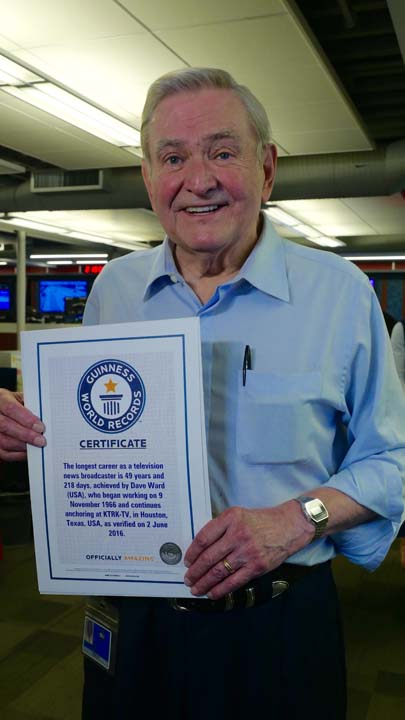 <div class='meta'><div class='origin-logo' data-origin='KTRK'></div><span class='caption-text' data-credit=''>ABC13 anchor Dave Ward was recognized by the Guinness Book of World Records as the longest running local TV news anchor in the world at the same station in the same market.</span></div>