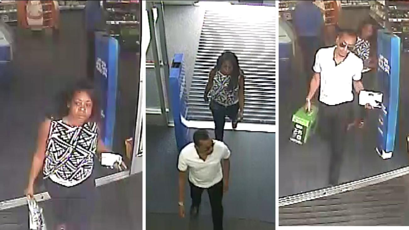 Identity theft suspects