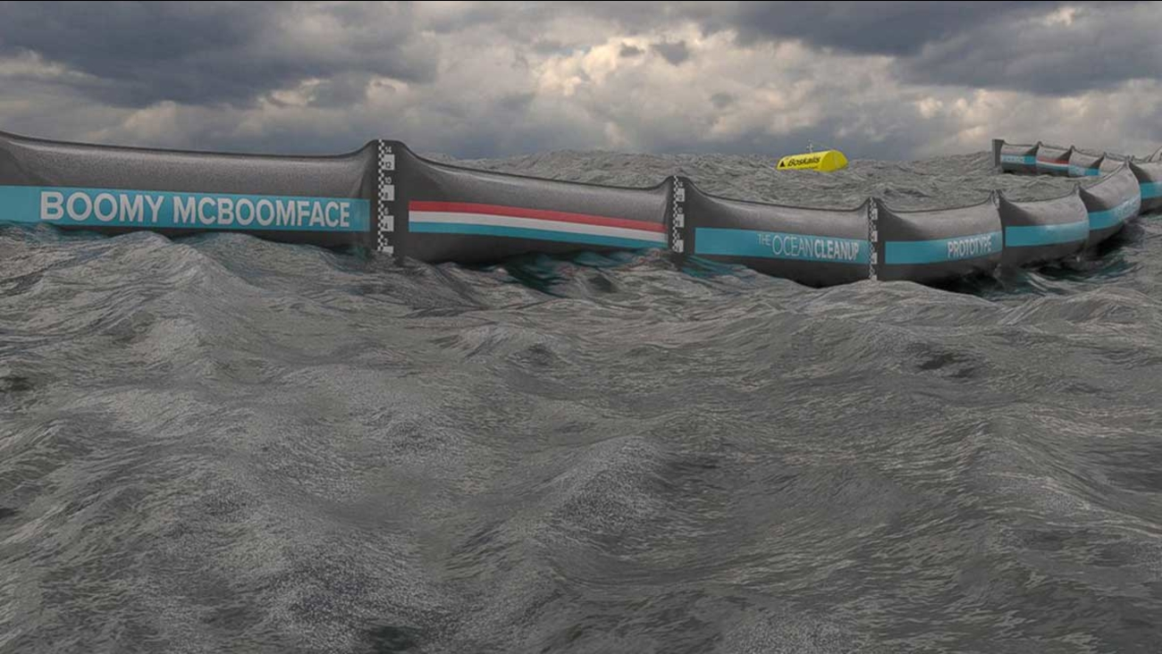 Massive Ocean Garbage Collector to Be Tested in North Sea