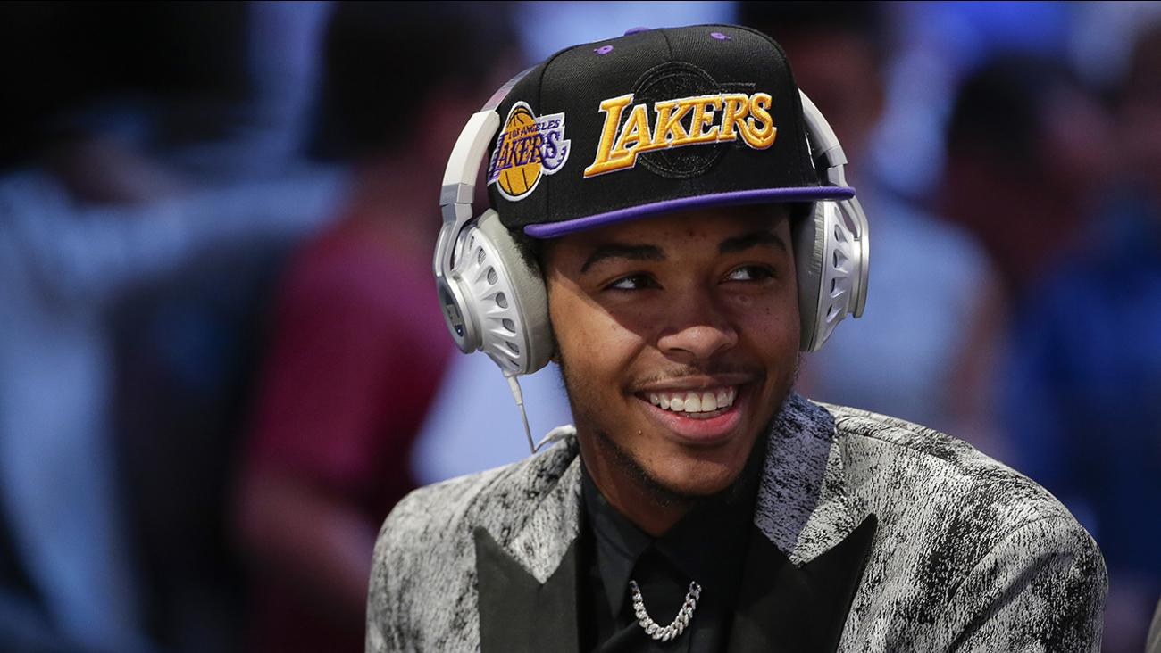 Duke's Brandon Ingram is heading to the Lakers.