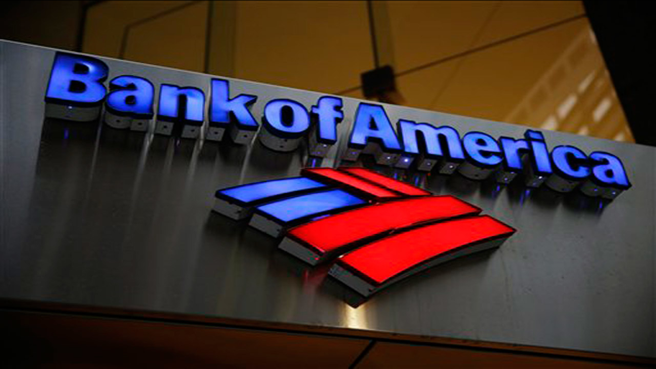Bank of America sign logo generic