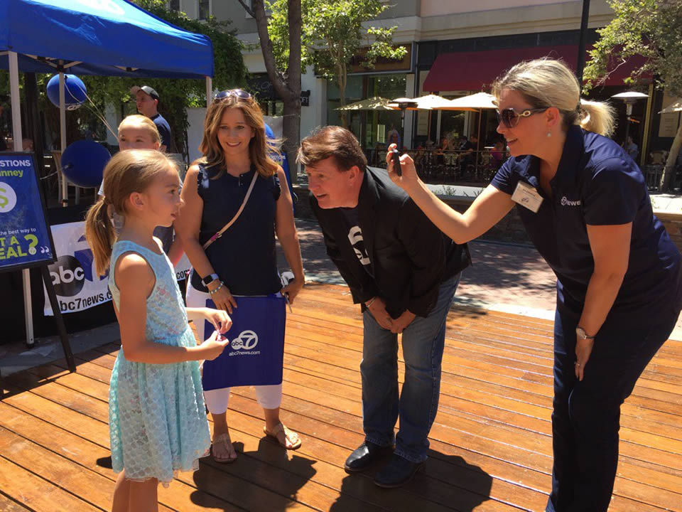 """<div class=""""meta image-caption""""><div class=""""origin-logo origin-image none""""><span>none</span></div><span class=""""caption-text"""">Violet, 9, talks to 7 On Your Side's Michael Finney at Santana Row in San Jose, Calif. on Friday, Juen 24, 2016. (KGO-TV)</span></div>"""