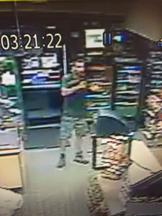 "<div class=""meta image-caption""><div class=""origin-logo origin-image none""><span>none</span></div><span class=""caption-text"">Photos of an armed robbery suspect at a Kangaroo store on Gillespie Street in Fayetteville (image courtesy Cumberland County Sheriff's Office)</span></div>"