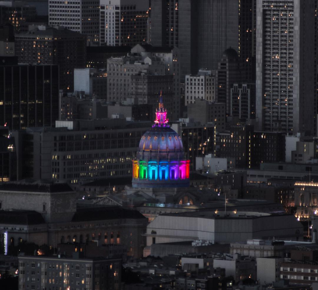 <div class='meta'><div class='origin-logo' data-origin='none'></div><span class='caption-text' data-credit='Photo submitted to KGO-TV by @jessicajmiller/Twitter'>San Francisco City Hall on Friday, June 24, 2016.</span></div>