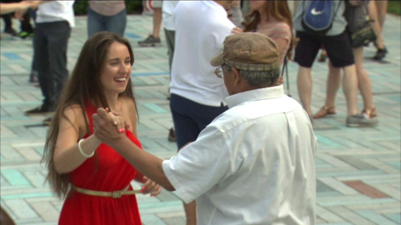 Dance lessons run all summer in Chicago
