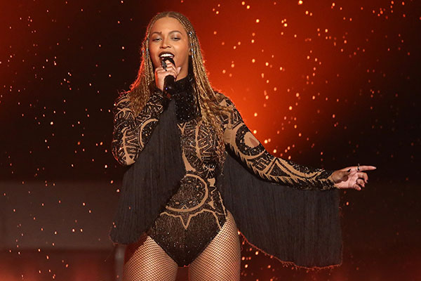 """<div class=""""meta image-caption""""><div class=""""origin-logo origin-image none""""><span>none</span></div><span class=""""caption-text"""">Beyonce performs at the BET Awards on Sunday in Los Angeles. (Matt Sayles/Invision/AP)</span></div>"""