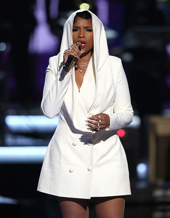 """<div class=""""meta image-caption""""><div class=""""origin-logo origin-image none""""><span>none</span></div><span class=""""caption-text"""">Jennifer Hudson performs a tribute to Prince at the BET Awards on Sunday in Los Angeles. (Matt Sayles/Invision/AP)</span></div>"""