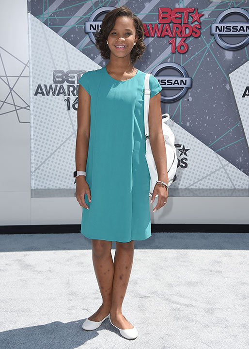"<div class=""meta image-caption""><div class=""origin-logo origin-image none""><span>none</span></div><span class=""caption-text"">Quvenzhané Wallis arrives at the BET Awards on Sunday in Los Angeles. (Jordan Strauss/Invision/AP)</span></div>"