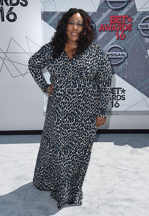 """<div class=""""meta image-caption""""><div class=""""origin-logo origin-image none""""><span>none</span></div><span class=""""caption-text"""">Loni Love arrives at the BET Awards on Sunday in Los Angeles. (Jordan Strauss/Invision/AP)</span></div>"""