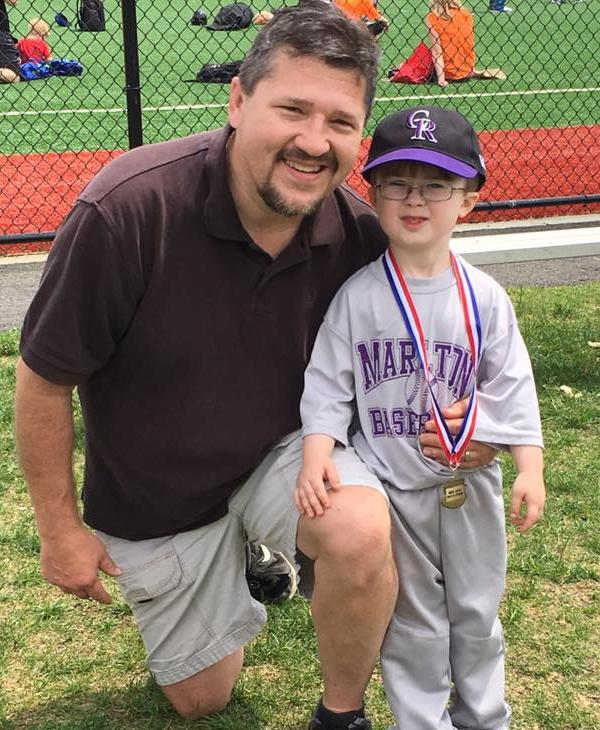 <div class='meta'><div class='origin-logo' data-origin='none'></div><span class='caption-text' data-credit=''>Dylan from Marlton, NJ getting his first t-ball medal.</span></div>