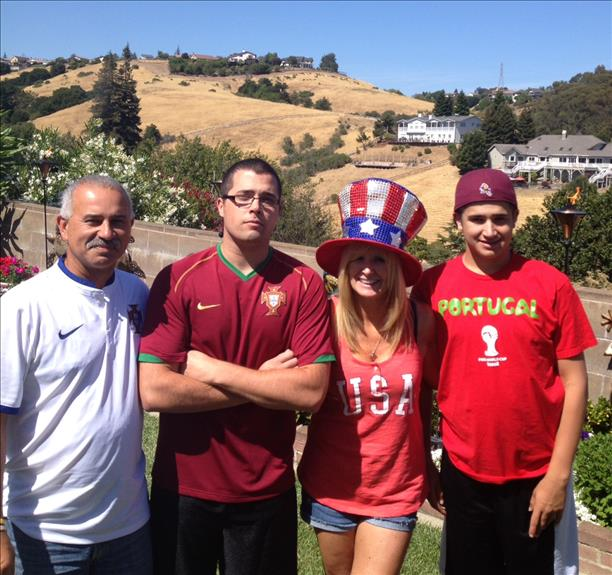 "<div class=""meta image-caption""><div class=""origin-logo origin-image ""><span></span></div><span class=""caption-text"">Goulart family from Castro Valley cheers on Portugal!  Keep sending in your World Cup fan photos! (photo submitted by Sandi Goulart via uReport)</span></div>"