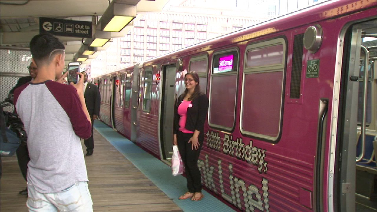 Pink Line celebrates 10 years of service
