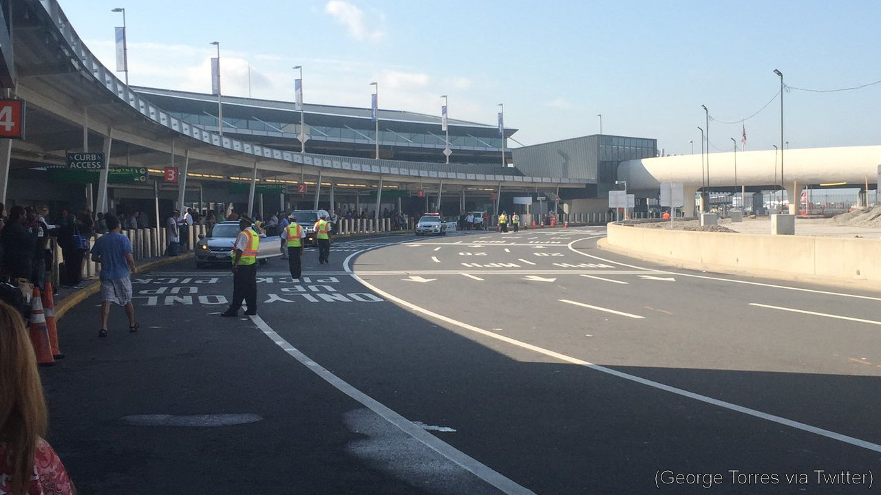 jfk airport evacuation