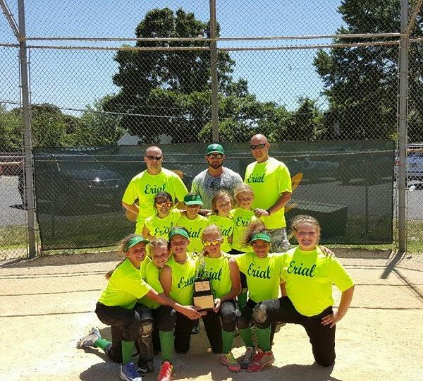 <div class='meta'><div class='origin-logo' data-origin='none'></div><span class='caption-text' data-credit=''>Erial Minor League softball Division Champions</span></div>