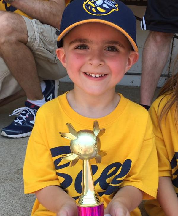 <div class='meta'><div class='origin-logo' data-origin='none'></div><span class='caption-text' data-credit=''>First trophy for this little slugger</span></div>