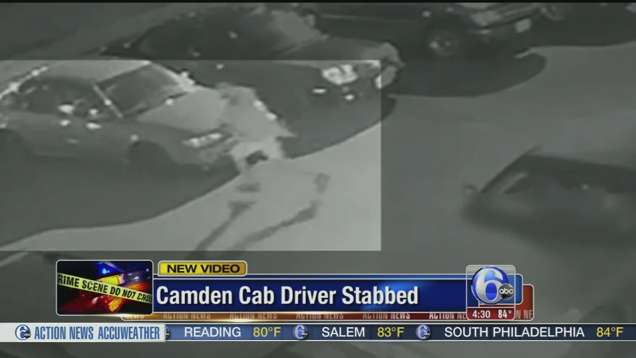 Video Released Of Suspect In Camden Cab Driver Stabbing 6abc Com