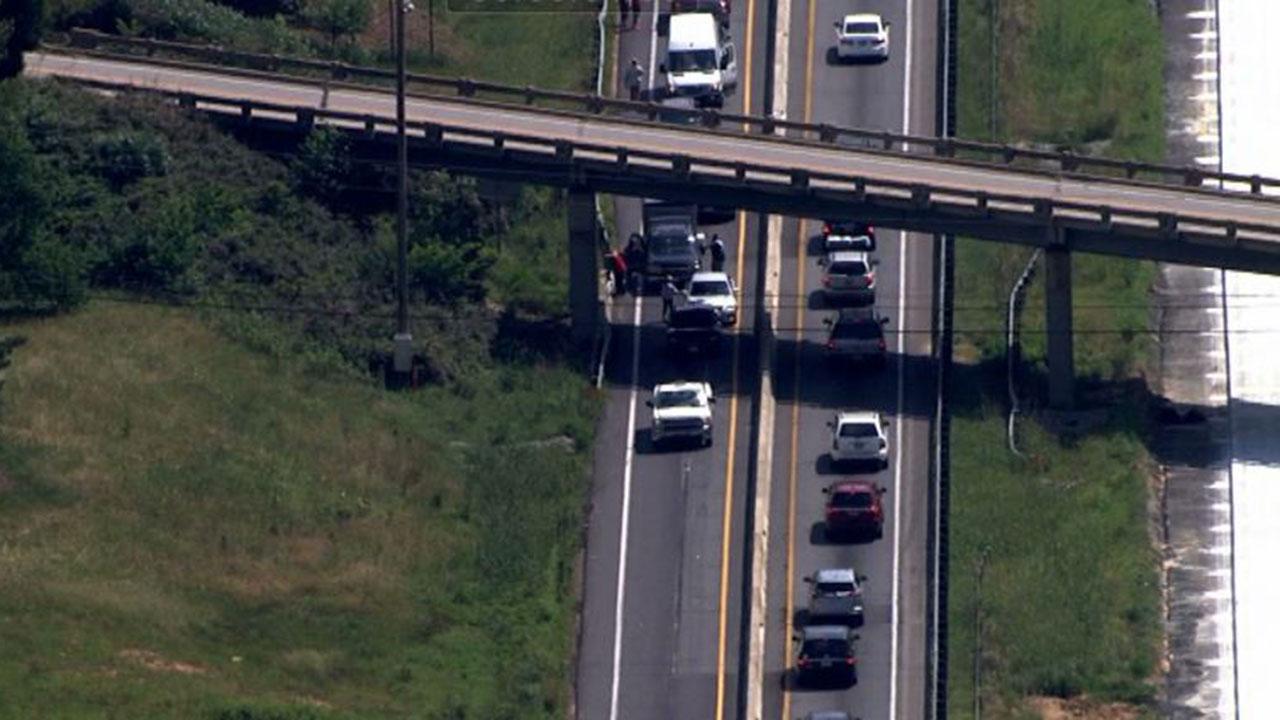 Interstate 85 near exit 214