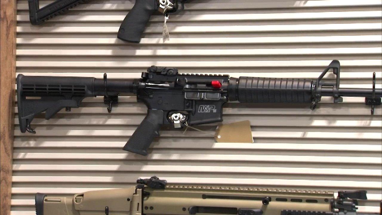 McHenry gun raffle
