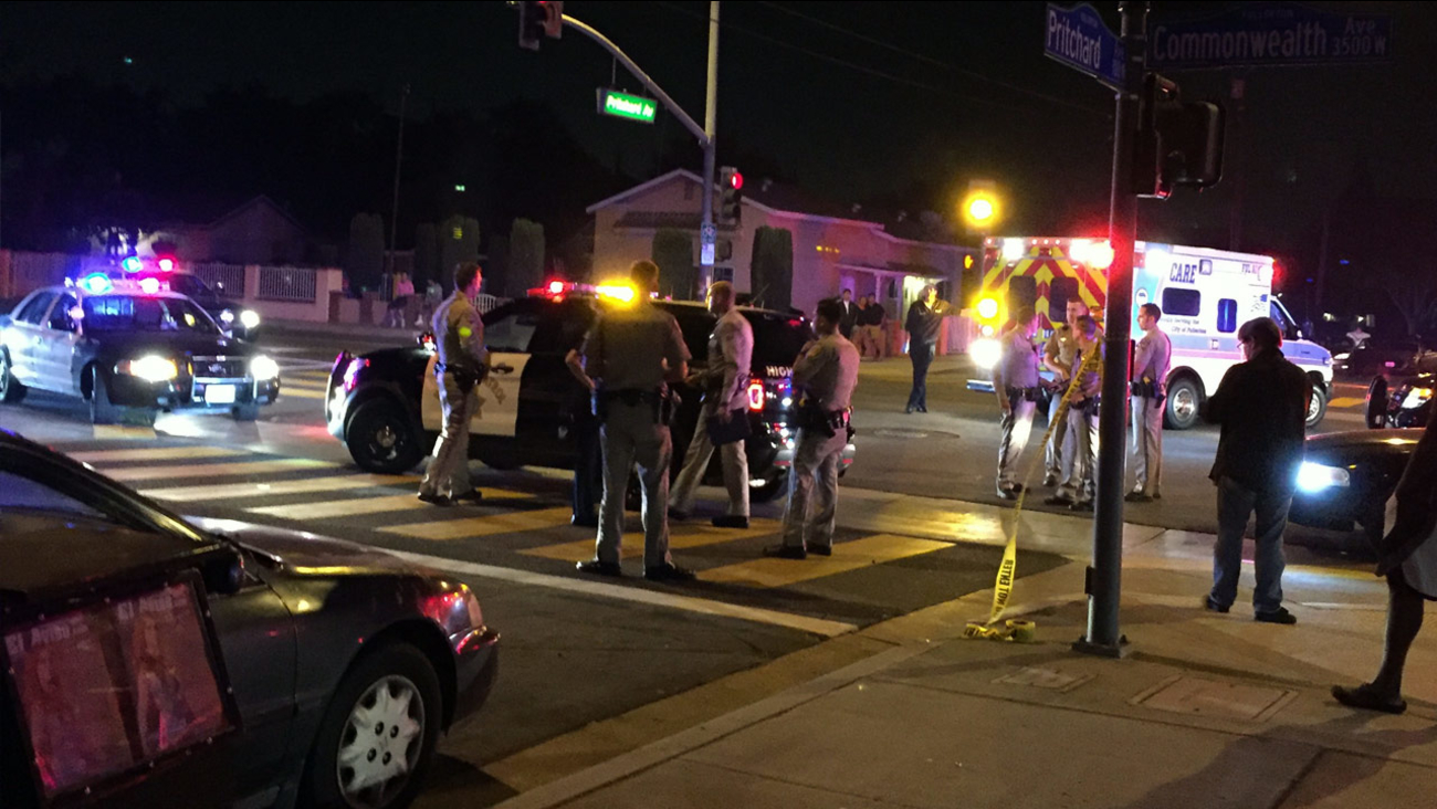 An officer-involved shooting took place in Fullerton on Sunday, July 3, 2016, according to the California Highway Patrol.