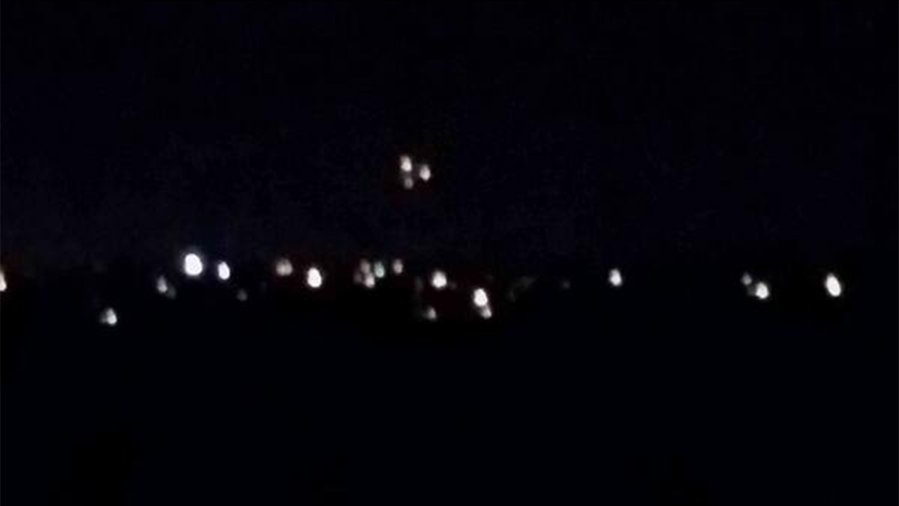 More Mysterious Lights Spotted In Southern California Sky Abc7 Com