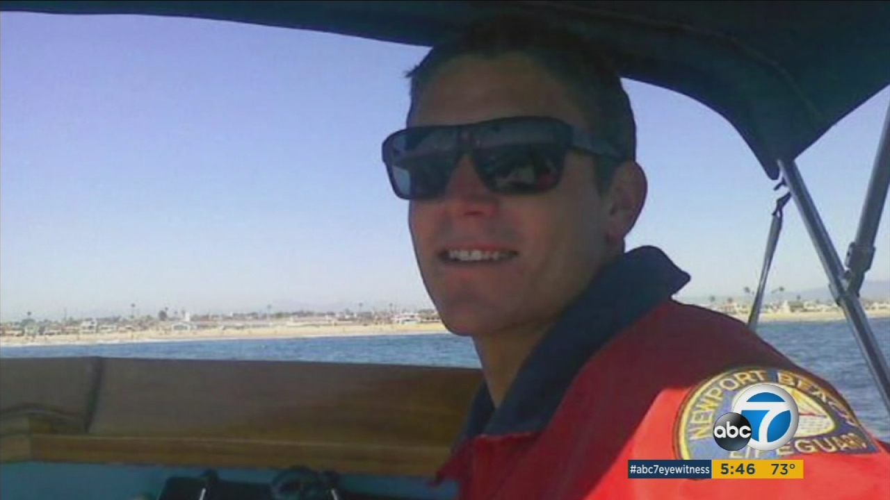 Two years after a Newport Beach lifeguard died while rescuing a swimmer in strong waves, a statue is being unveiled to honor his heroic sacrifice.