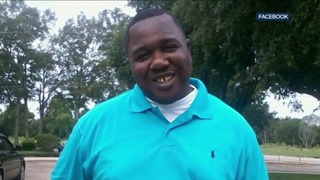 Alton Sterling is shown in an undated photo from his Facebook page.