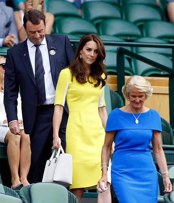 "<div class=""meta image-caption""><div class=""origin-logo origin-image ap""><span>AP</span></div><span class=""caption-text"">Kate, the Duchess of Cambridge, takes her seat in the Royal Box during day ten of the Wimbledon Tennis Championships in London, Thursday, July 7, 2016. (Kirsty Wigglesworth/AP)</span></div>"