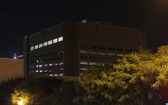 <div class='meta'><div class='origin-logo' data-origin='AP'></div><span class='caption-text' data-credit='AP Photo/LM Otero'>The El Centro College parking garage stands in downtown Dallas early Friday, July 8, 2016</span></div>