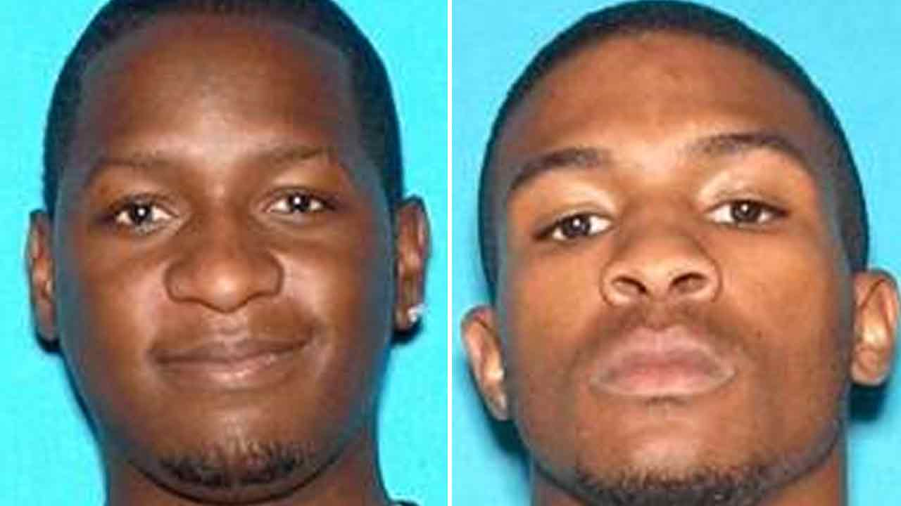 Travon Lamar Williams, 26, left, Samathy Mahan, 25, right, are seen in undated photos provided by the San Bernardino Police Dept. on Saturday, July 9, 2016.