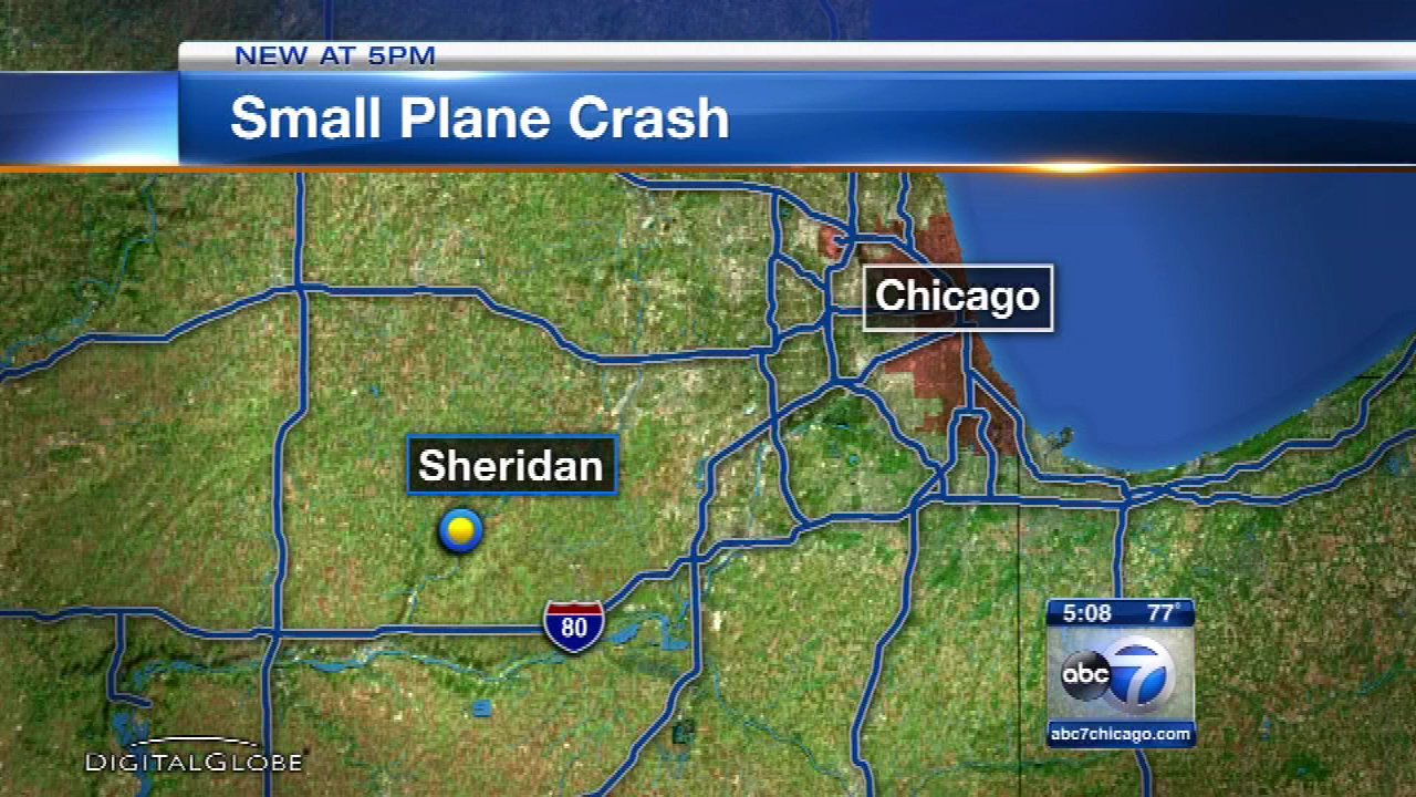 Pilot injured after plane flips over in LaSalle County