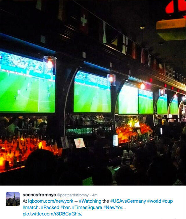 "<div class=""meta image-caption""><div class=""origin-logo origin-image ""><span></span></div><span class=""caption-text"">People skip work to watch World Cup game at their local sports bar. (/ Twitter)</span></div>"