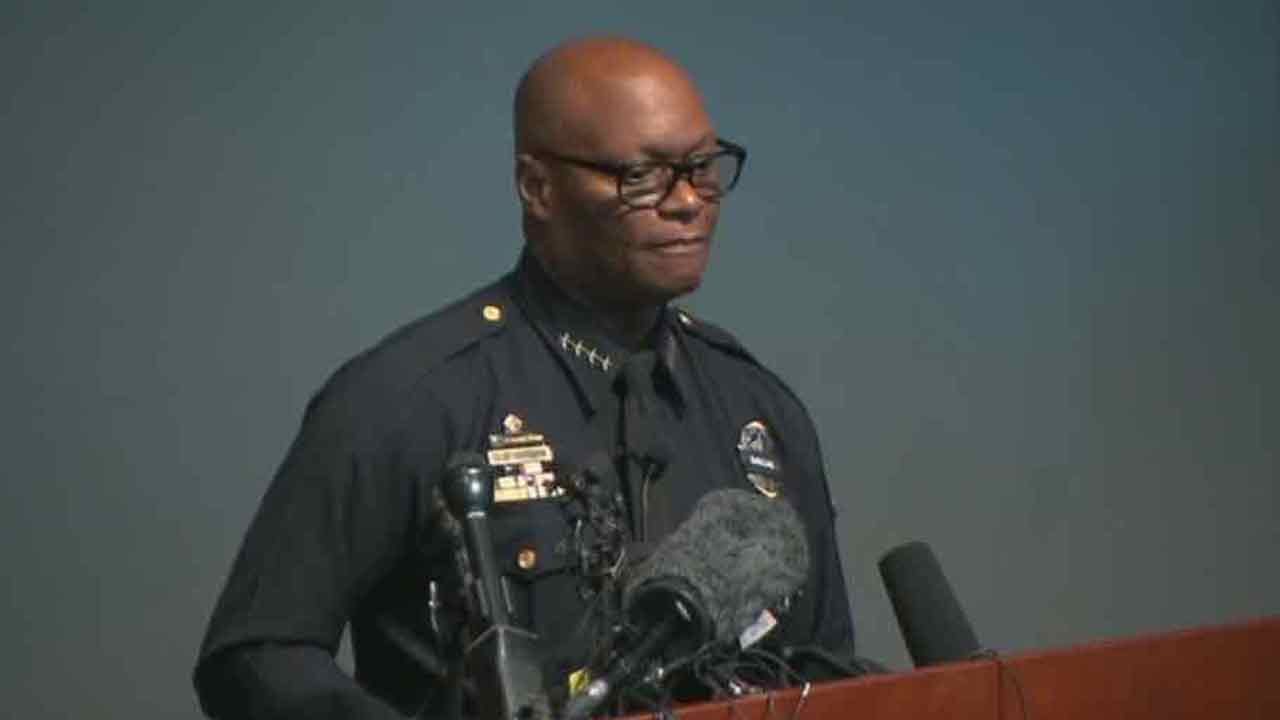Dallas Police Department Chief David Brown speaks at a live news conference about the Dallas ambush on Monday, July 11, 2016.