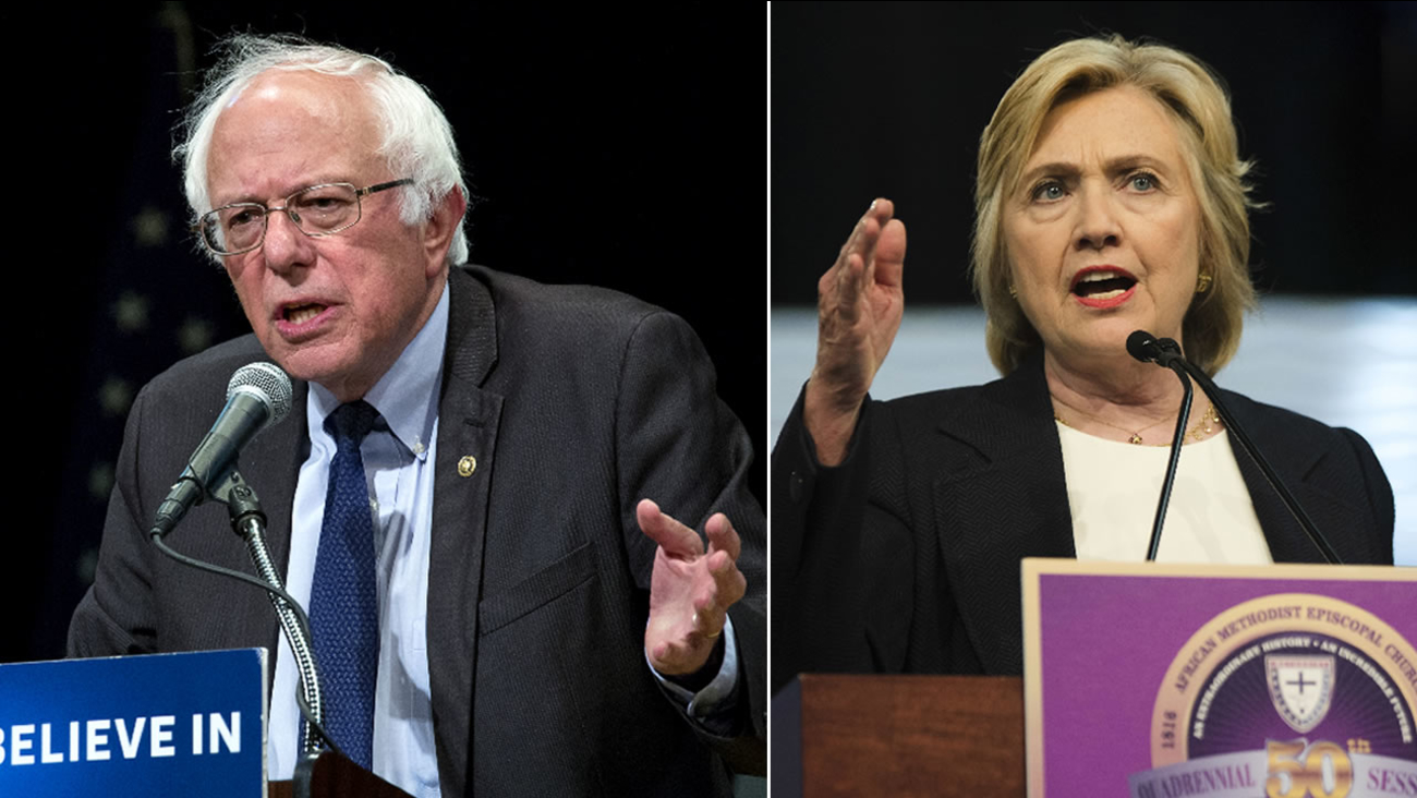 Bernie Sanders and Hillary Clinton will campaign together at a rally in New Hampshire on Tuesday, July 12, 2016.