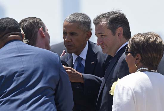 "<div class=""meta image-caption""><div class=""origin-logo origin-image ap""><span>AP</span></div><span class=""caption-text"">President Barack Obama, accompanied by Sen. Ted Cruz, R-Texas (AP Photo/Susan Walsh)</span></div>"
