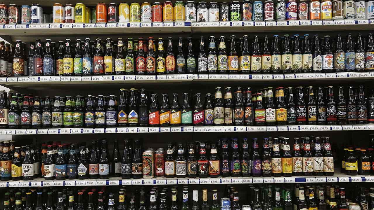 Beers may offer nutrition info alongside ingredient details