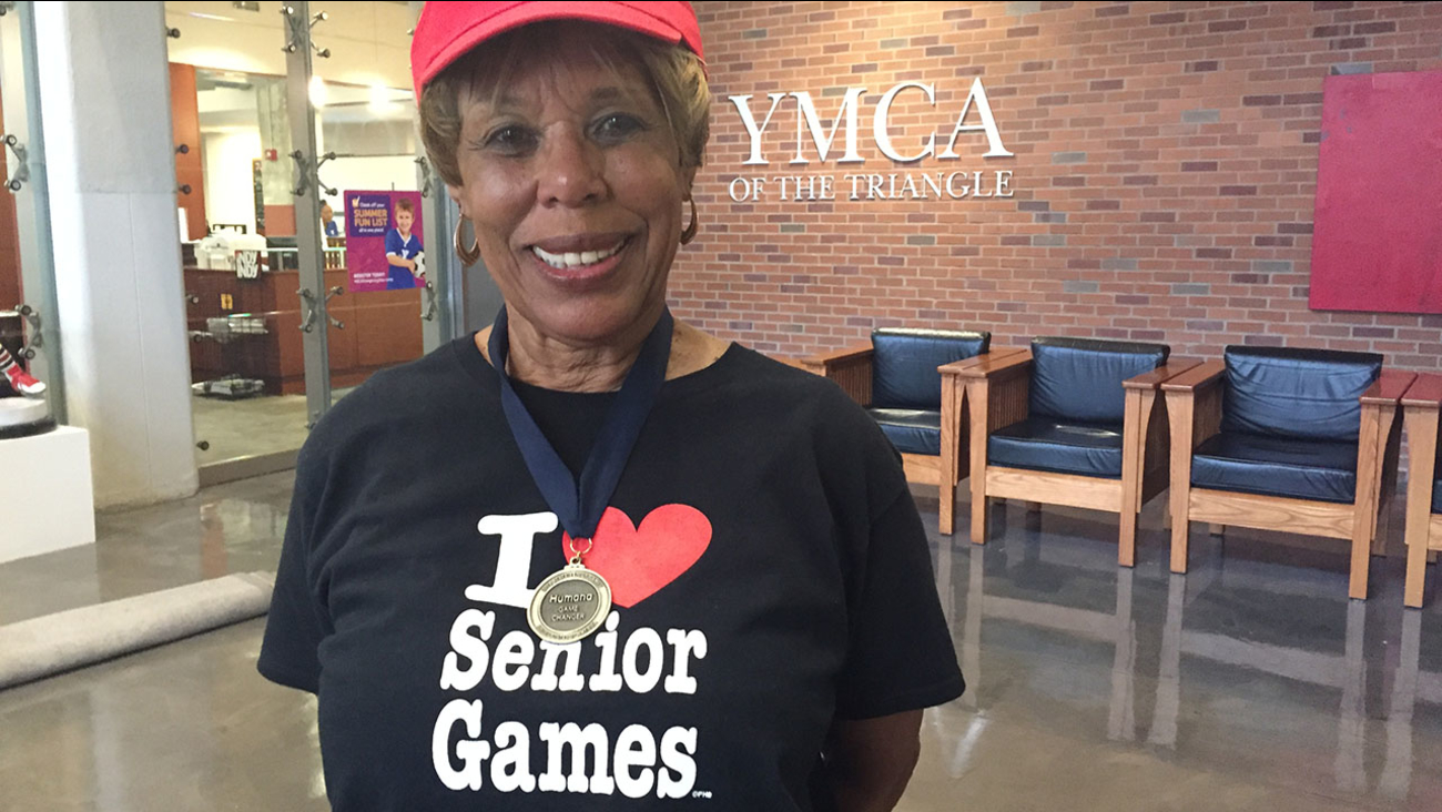 Louise Gooche is a 73 year old cheerleader in Durham, and she wants you to get up and move